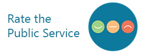 Rate The Public Service Logo